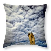 Into The Firmanent Throw Pillow