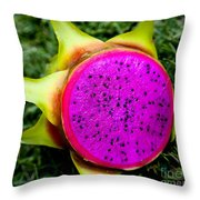 Into The Flesh Throw Pillow