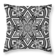 Into The Floral Throw Pillow