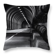 Into The Headlands Throw Pillow