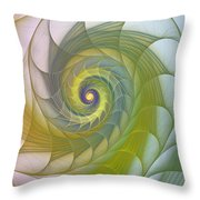 Into The Inner Kingdom Throw Pillow