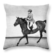 Into The Jump Throw Pillow
