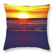 Into The Light Two  Throw Pillow