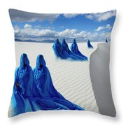 Into The Mystic 12 Throw Pillow