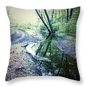 Into The Nothing Throw Pillow