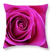 Into The Rose Throw Pillow