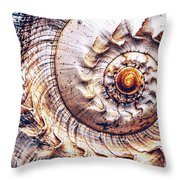 Into The Spiral Throw Pillow