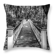 Into The Swamp Throw Pillow
