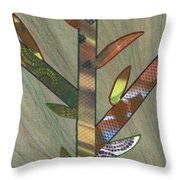Into The Tall Grass Throw Pillow