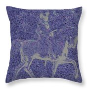 Into The Unknown - Study #1 Throw Pillow