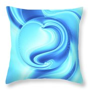 Into The Unknown Xcii Throw Pillow