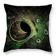 Into The Vortex Throw Pillow