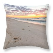 Into The Waves Throw Pillow