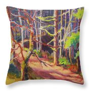 Into The Woods II Throw Pillow