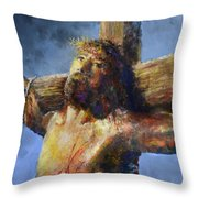Into Your Hands Throw Pillow