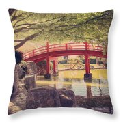 Into Your Loving Heart Throw Pillow