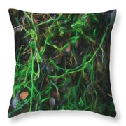 Intricate Connections Throw Pillow
