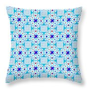 Intricate Geometric Pattern Throw Pillow