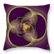 Intrinsica Creation Throw Pillow