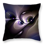 Introspective Perspective Throw Pillow
