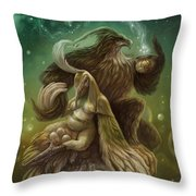 Invenies Throw Pillow