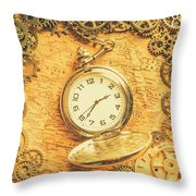 Invention Of Time Throw Pillow