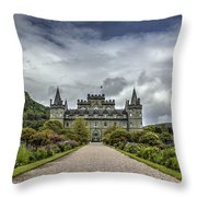 Inveray Castle Throw Pillow