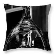 Inverted Anticipation Throw Pillow