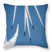 Inverted Bomb Burst  Throw Pillow