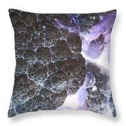 Inverted Cauliflower Throw Pillow