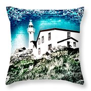 Inverted Lighthouse  Throw Pillow