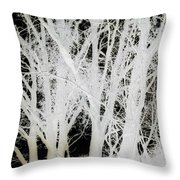 Inverted Nature Throw Pillow