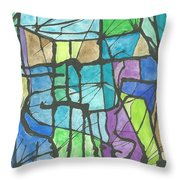 Invierno  Winter Throw Pillow