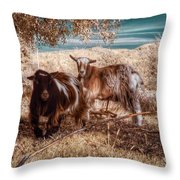 Invisible Lives Throw Pillow