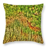 Invisible Nature One Surreal C Throw Pillow