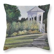 Invitation At Laurel Arts Throw Pillow