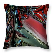 Invitation To Ride 1492 H_2 Throw Pillow