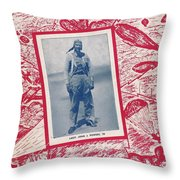 Inwood Chatter, 1943 Throw Pillow