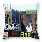 Inwood Farm Throw Pillow