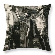 Inwood Hill Park Opening Day, 1926 Throw Pillow