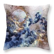 Ion Storm Throw Pillow