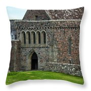 Iona Abbey Throw Pillow