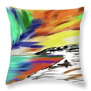 My Soul Is In The Sky Throw Pillow