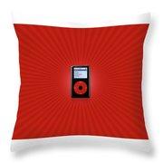 Ipod Throw Pillow