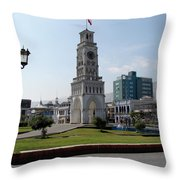 Iquique Chile Plaza Throw Pillow