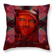 Iran Daze Throw Pillow