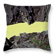 Irazu Volcano - Costa Rica Throw Pillow