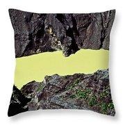 Irazu Volcano - Costa Rica Throw Pillow