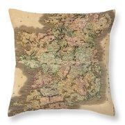 Ireland 1831 Throw Pillow