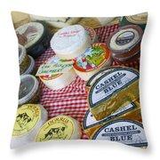 Ireland Cheese Vendor Throw Pillow